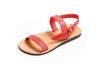 Theluto France Leather Sandal Red *Oh My!*