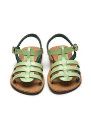 Large Image of Theluto France Fisherman Sandal Mint Green *Divine Colour*