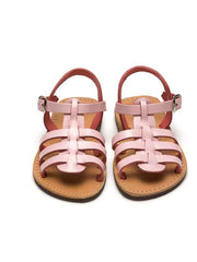 Large Image of Theluto France Fisherman Sandal Pink Nude *Divine Colour*