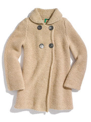 Large Image of United Colors of Benetton Italy Double Breasted Coat
