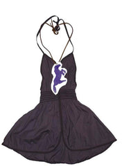 Large Image of Wovenplay Darger Halter Dress & Pony Necklace *Dream Dress*