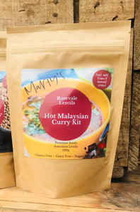 Rosevale Lentils ~ Hot Malaysian Curry Mix