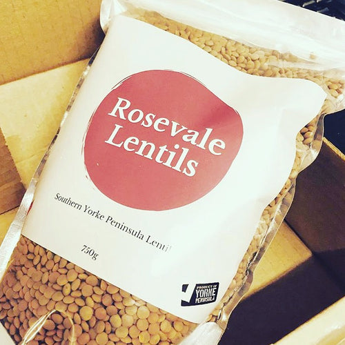 Rosevale Lentils ~ Whole Red Lentils 750g