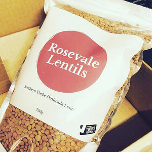 Whole Red Lentils 750g