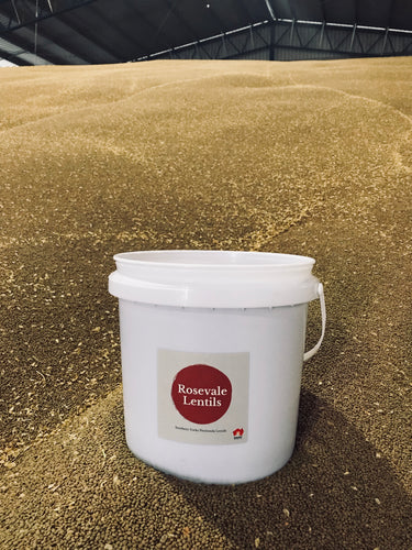 Whole Red Lentils 10KG Pantry Bucket