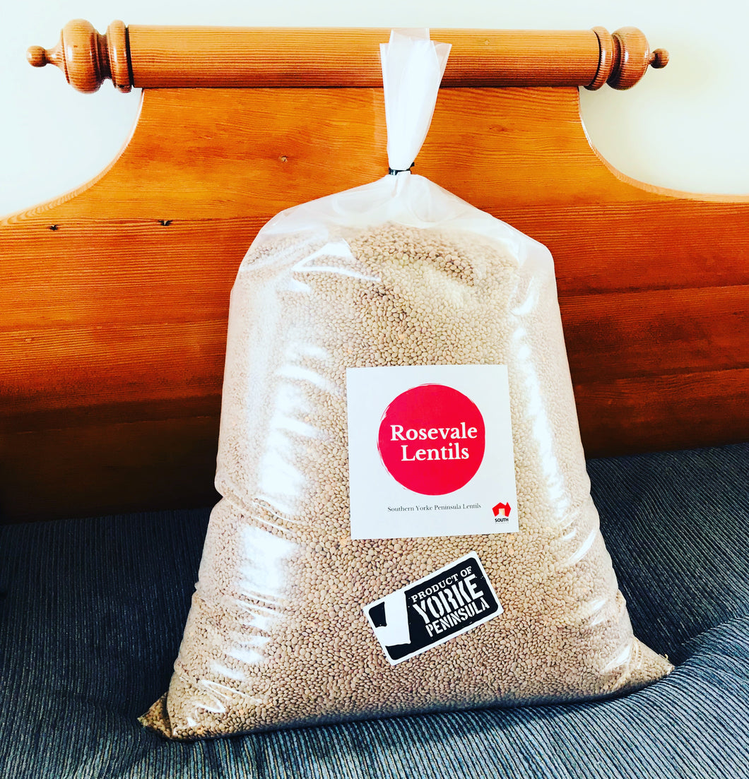 Whole Red Lentils 20kg BULK