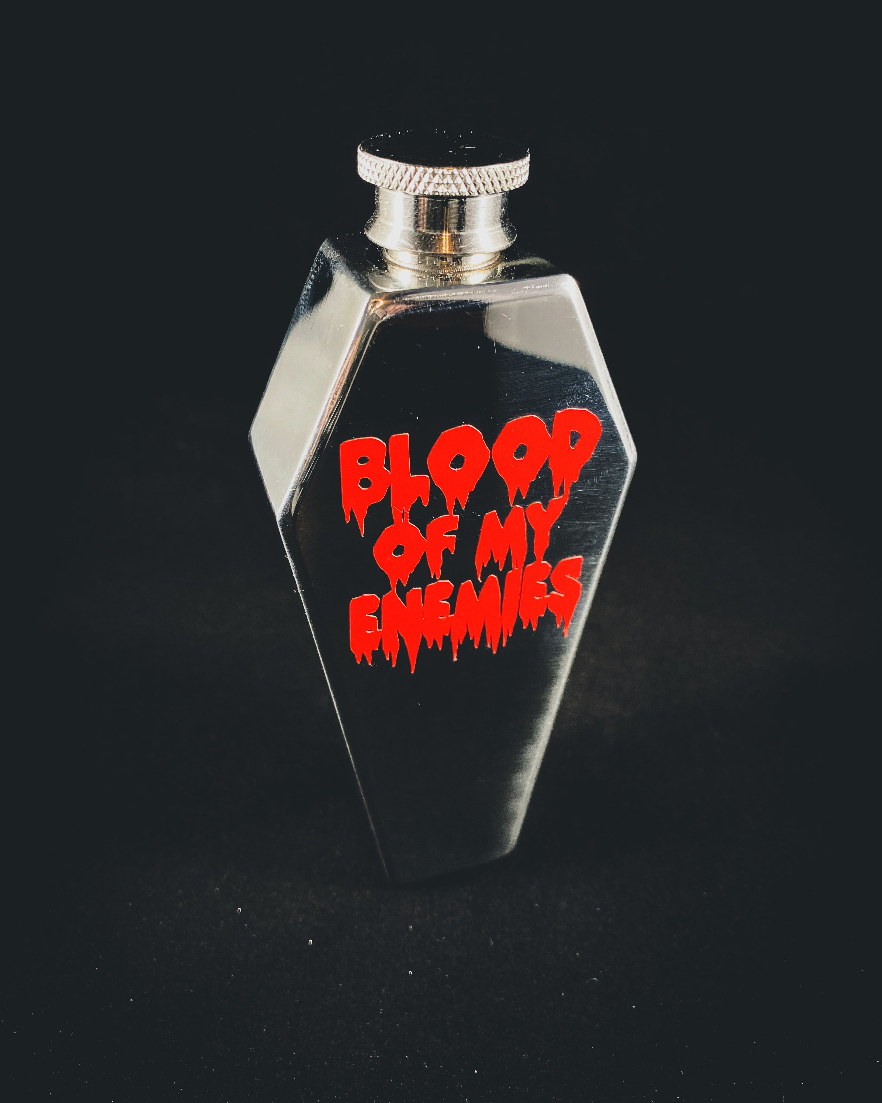Coffin Flask(Blood Of My Enemies)