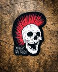 """Punk Skull"" Sticker"