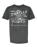 """More Thrills Than Ever"" Acid Wash Tee(PRE-ORDER)"