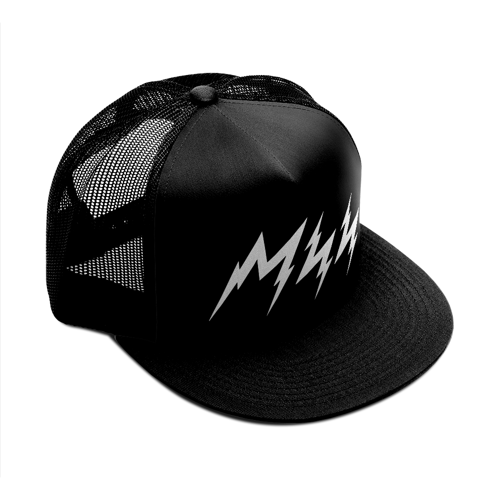 White Lightnin' Trucker Hat
