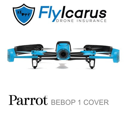 Parrot Bebop 1 Hobby Drone Insurance - Annual Cover - FlyIcarus Drone Insurance