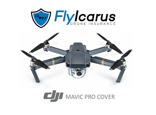 DJI Mavic Pro - Annual Cover - FlyIcarus Drone Insurance
