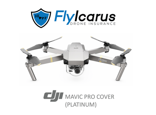 DJI Mavic Pro Platinum Hobby Drone Insurance - Annual Cover - FlyIcarus Drone Insurance