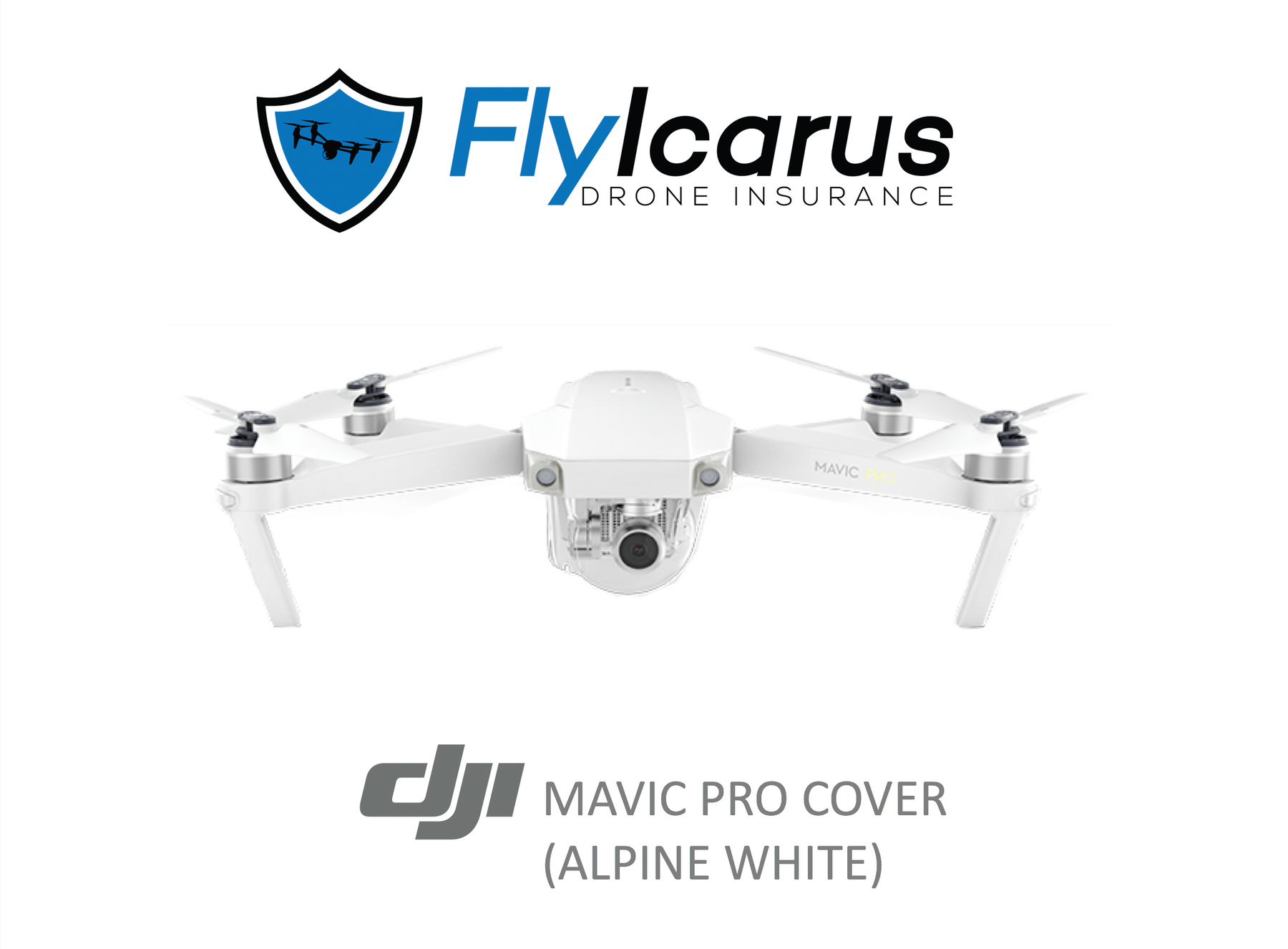 DJI Mavic Pro (Alpine White) Hobby Drone Insurance - Annual Cover - FlyIcarus Drone Insurance