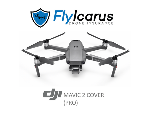 DJI Mavic 2 Pro (Including Smart Controller) Insurance - Annual Cover - FlyIcarus Drone Insurance