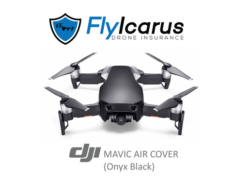 DJI Mavic Air (Onyx Black) Hobby Drone Insurance - Annual Cover - FlyIcarus Drone Insurance