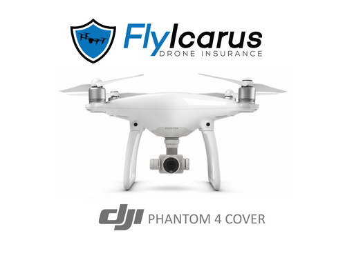 DJI Phantom 4 Hobby Drone Insurance - Annual Cover - FlyIcarus Drone Insurance