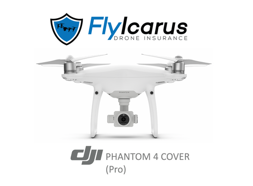 DJI Phantom 4 Pro Hobby Drone Insurance - Annual Cover - FlyIcarus Drone Insurance