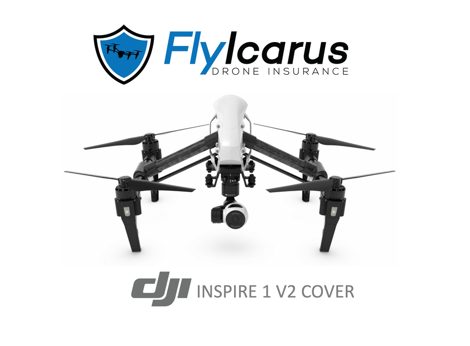 DJI Inspire 1 V2 Hobby Drone Insurance - Annual Cover - FlyIcarus Drone Insurance