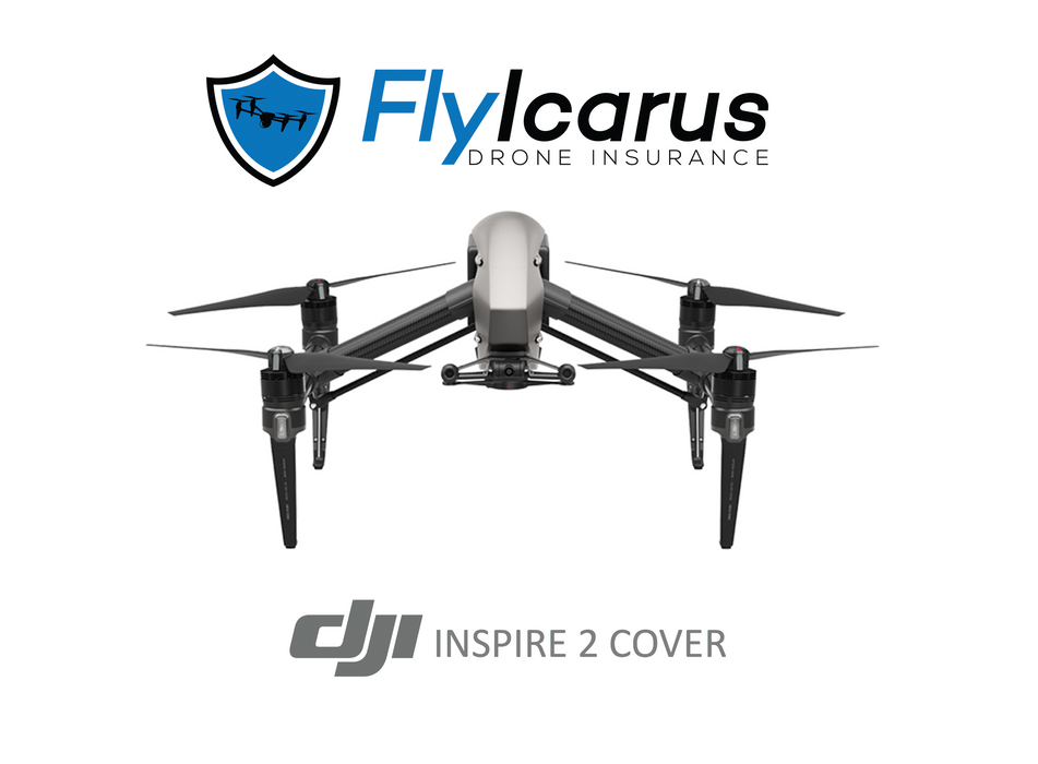 DJI Inspire 2 Hobby Drone Insurance - Annual Cover - FlyIcarus Drone Insurance