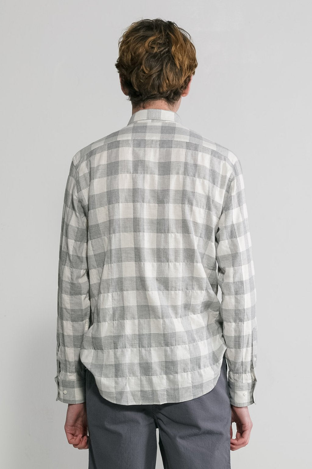 L/S Japanese Herringbone Gingham