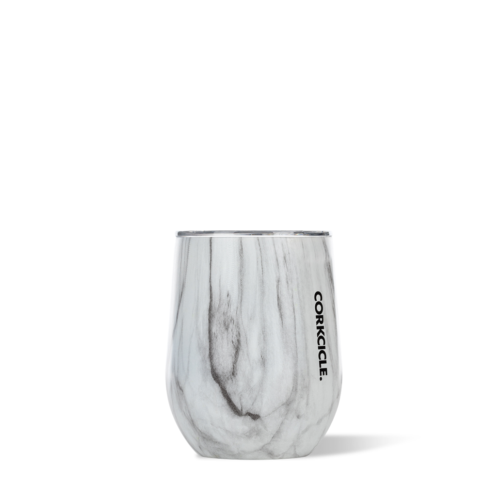 Stemless 12oz Snowdrift Wood