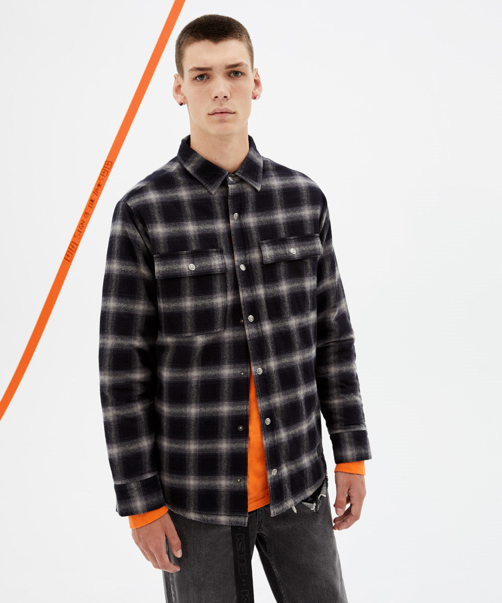 Strata Quilted LS Shirt