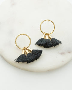 Duster Tassel Earrings