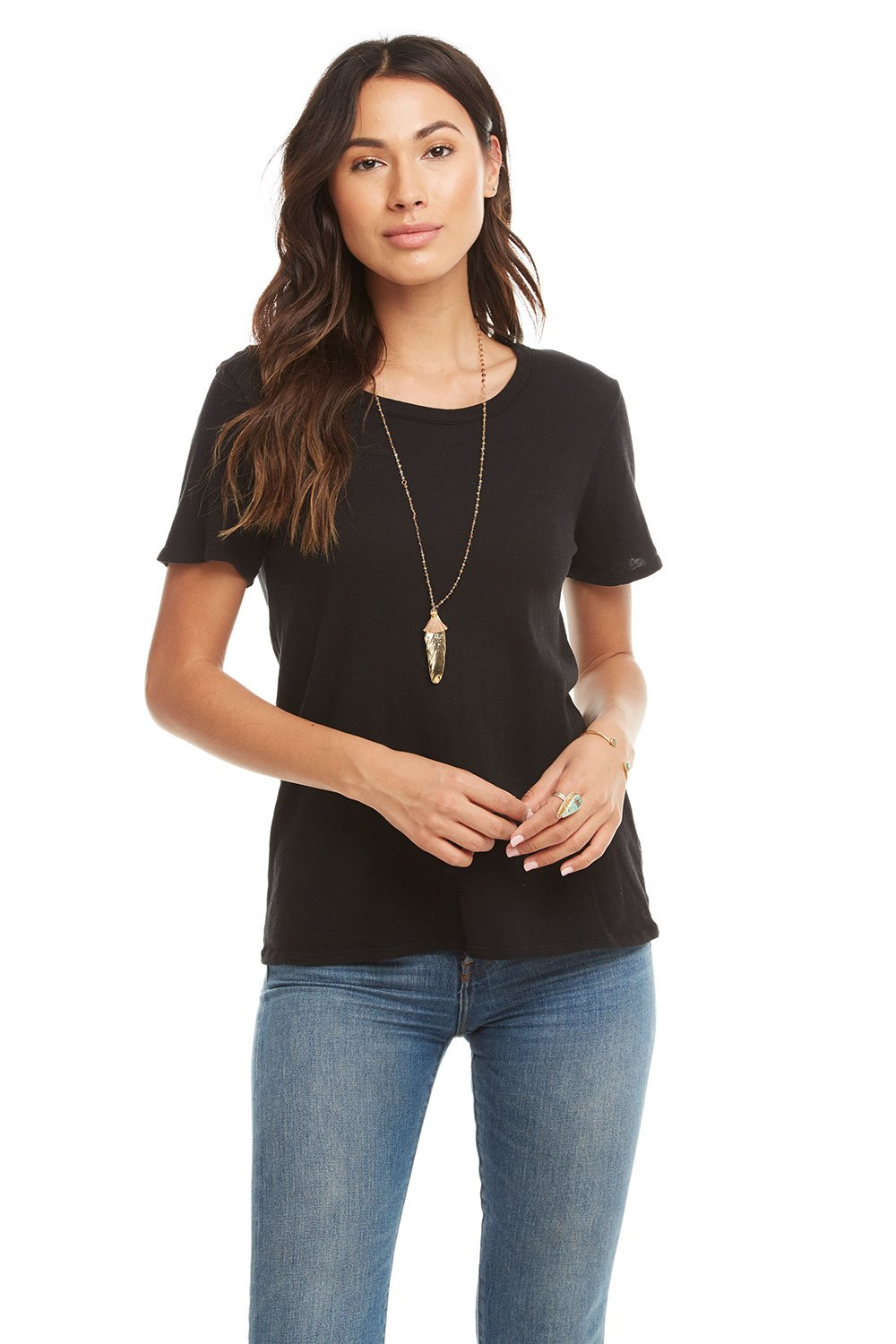 Cotton Basics Seamed S/S Crew Neck Tee