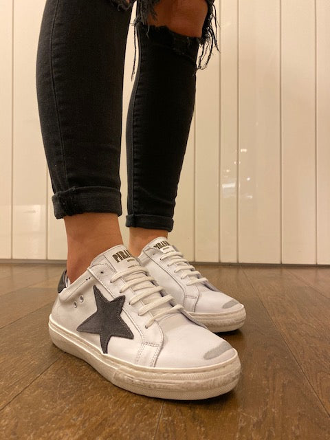 Star Shoe White