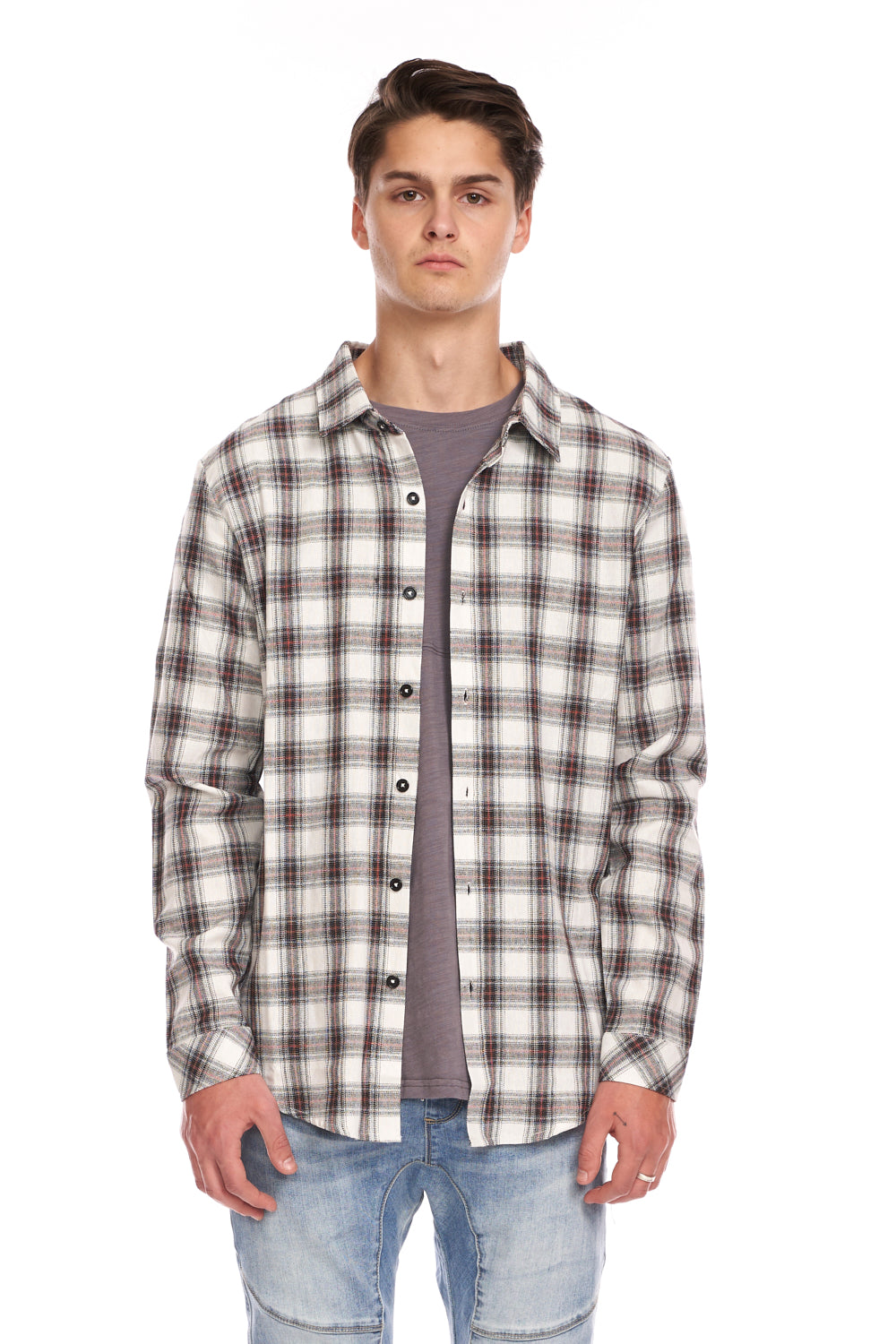 Proper Plaid Button Up