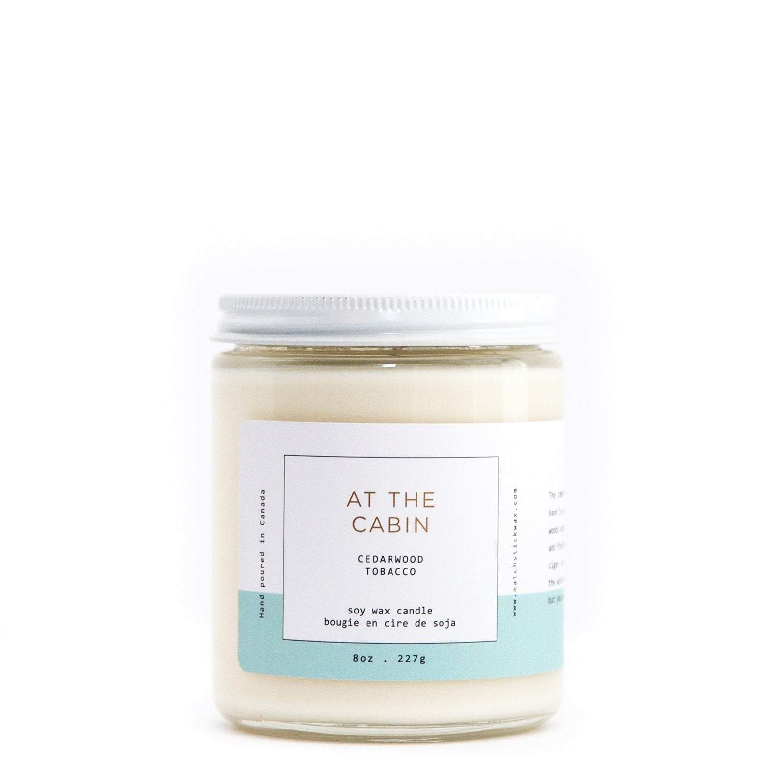 At the Cabin Soy Candle 8oz