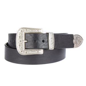 Omes Western Leather Belt