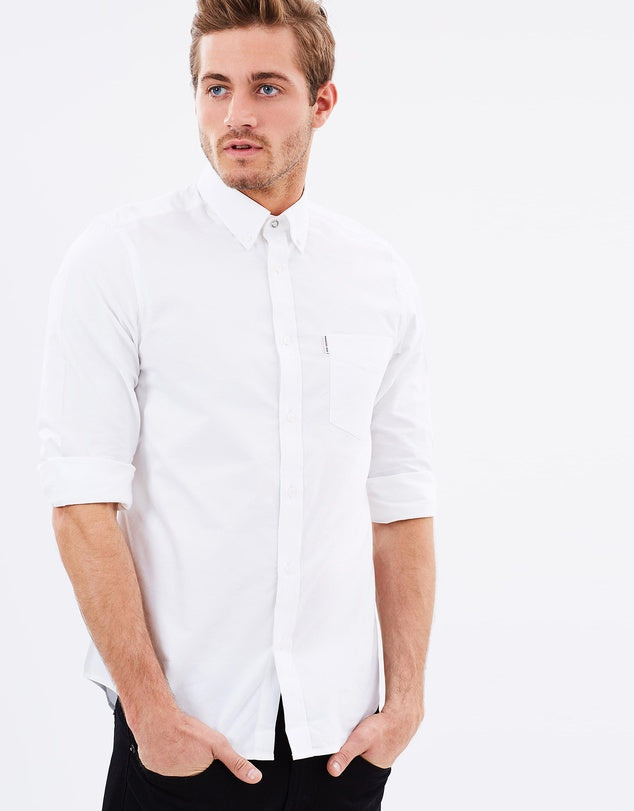 Oxford L/S Button Up Shirt