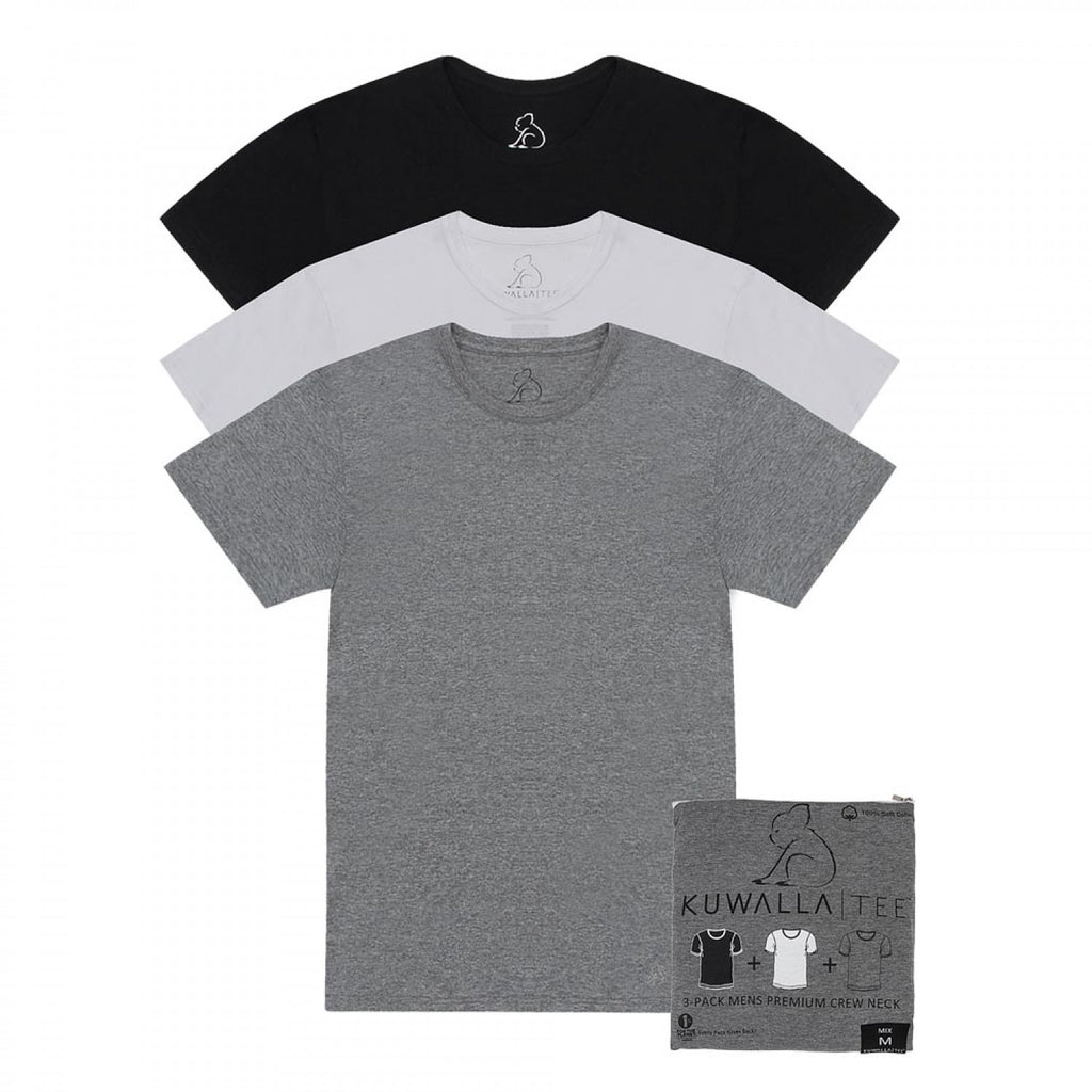 3 Pack Crew Neck Tees