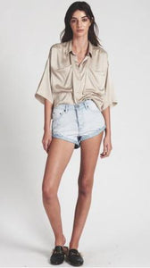 Bandit Mid Waist Denim Short