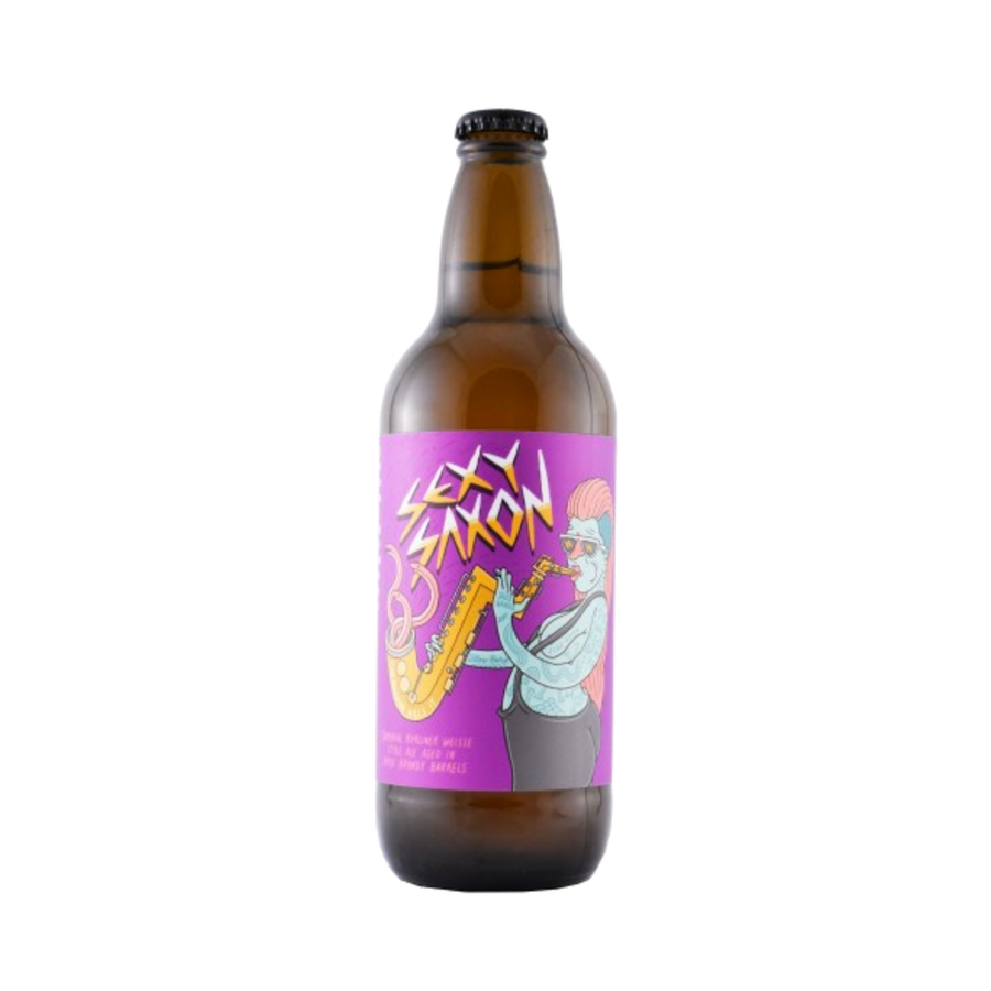 Against the Grain - Sexy Saxon Imperial BA Berliner Weisse 5% 500ml Bottle