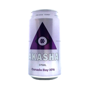 Akasha Brewing Co - Canada Bay XPA 4.2% 375ml Can