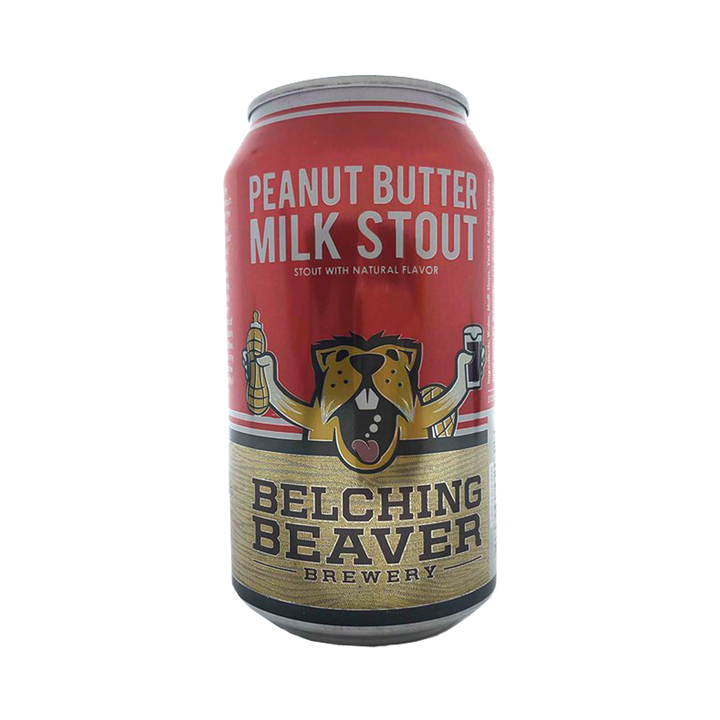 Belching Beaver Brewery - Peanut Butter Milk Stout 5.3% 355ml Can