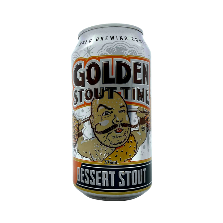 Big Shed Brewing Co - Golden Stout Time Dessert Stout 5.4% 375ml Can