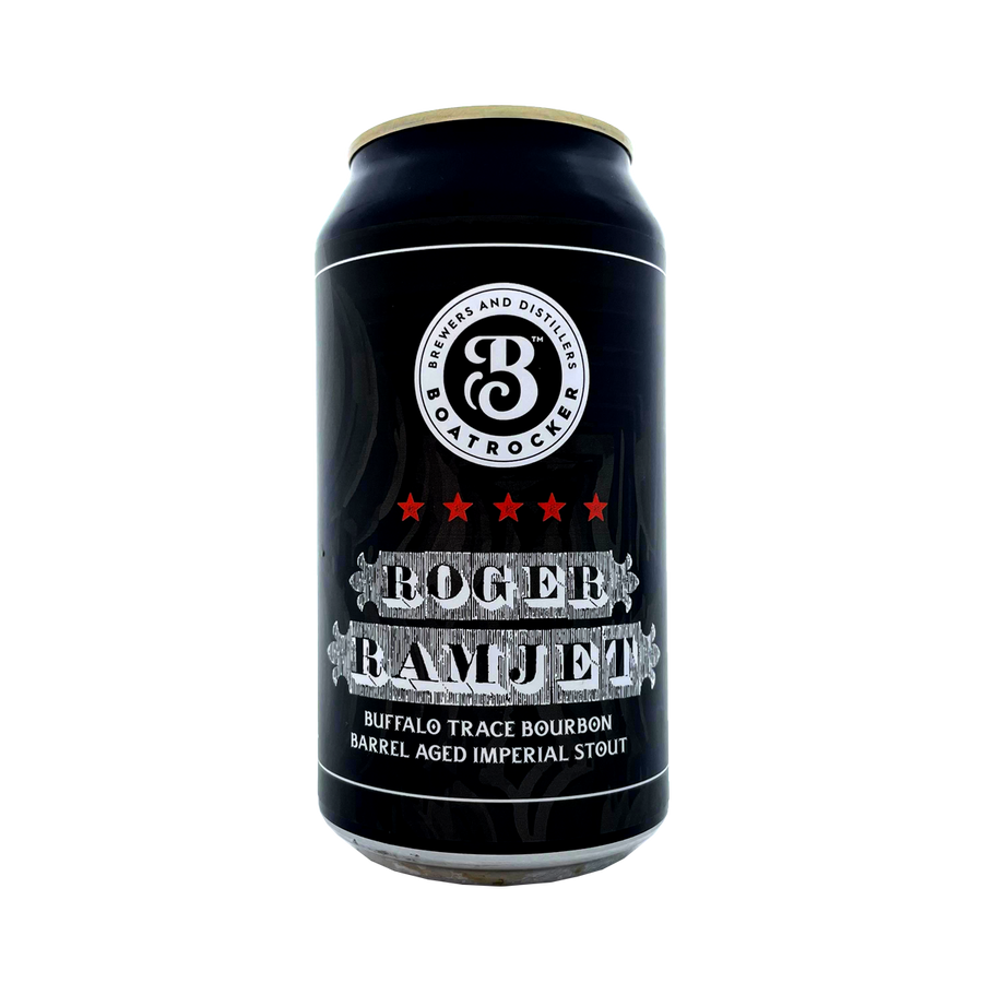 Boatrocker Brewers & Distillers - Roger Ramjet Imperial Stout 10.9% 375ml Can