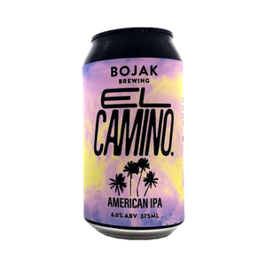 Bojak Brewing - El Camino American IPA 6% 375ml Can