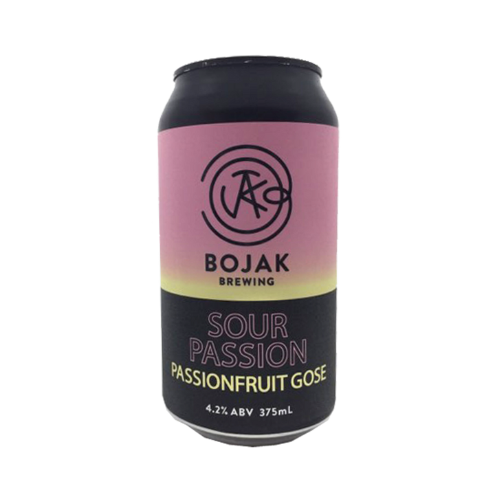 Bojak Brewing - Sour Passion Passionfruit Gose 4.2% 375ml Can
