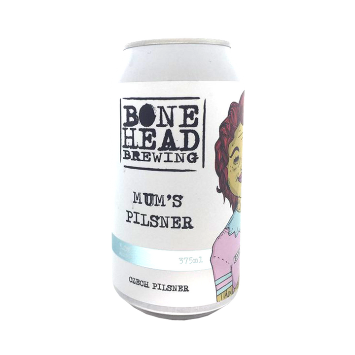 Bone Head Brewing - Mum's Pilsner 5% 375ml Can