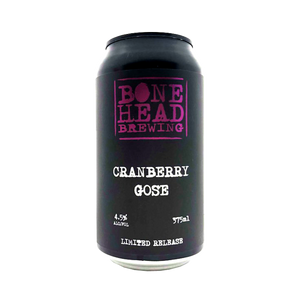 Bone Head Brewing - Cranberry Gose 4.5% 375ml Can