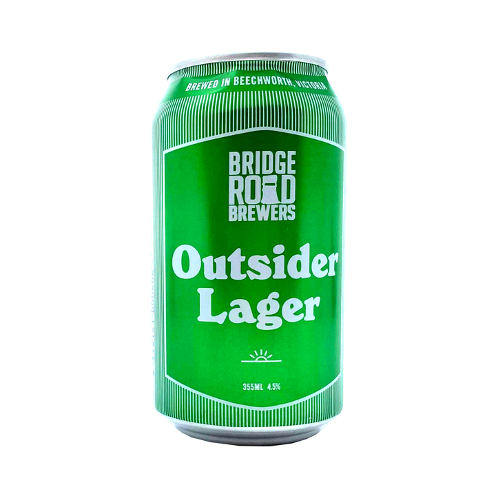 Bridge Road Brewers - Outsider Lager 4.5% 355ml Can
