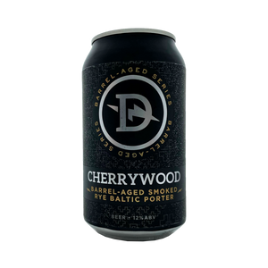 Dainton Brewery - Cherrywood Smoked Rye Baltic Porter 8.8% 355ml Can