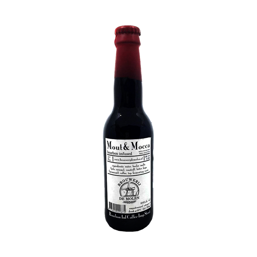 De Molen Brouwerij - Mout & Mocca Bourbon Infused Coffee Imperial Stout 10.6% 330ml Bottle