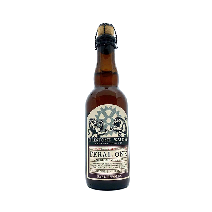 Firestone Walker Brewing Co - Feral One American Wild Ale 6.1% 375ml Bottle