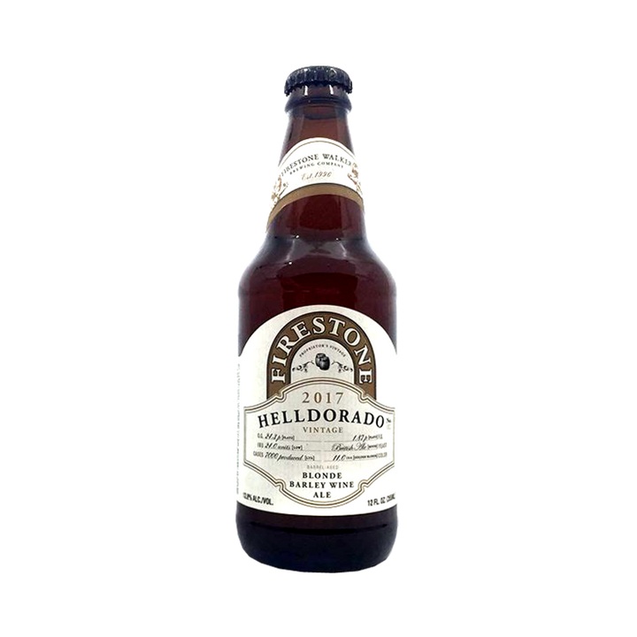 Firestone Walker Brewing Co - Helldorado 2017 Blonde Barley Wine Ale 12.8% 355ml Bottle